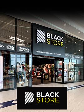 Carte Fidelite Blackstore.Centre Commercial Leclerc Oceane Reze Nantes 44
